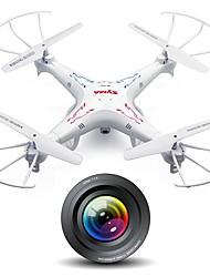 x5C de SyMa originale quadrocopters drone 2.4ghz 4 canaux 6axis drone avec 2mp quadcopter de caméra HD avec 4 Go carte TF