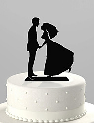 Love You Forever Wedding Cake Topper
