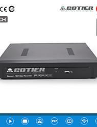 cotier®16ch 1U NVR 1080p / 1ch vga hdmi + 1ch / ONVIF / NVR n16 / 1U h