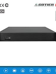 cotier® 36CH 1,5U NVR / 960p / 4sata / 2USB port / p2p nvr n36 / 1,5 U-4