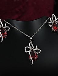 joyería de mayor venta de platino informal plateado collar de la boda& collar de la declaración de la joyería de compromiso 2015