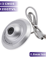 1200TVL CMOS COLOR Mini Camera UFO Camera 2.8mm Wide Angle Indoor CCTV Security Camera for Metal Case