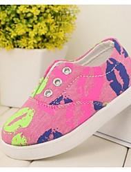Baby Shoes - Casual - Sneakers alla moda - Di corda - Blu / Rosa