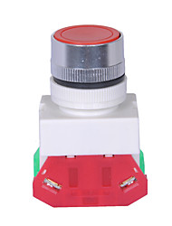 Indicator 220V With LED Lights Push Button Switch Red