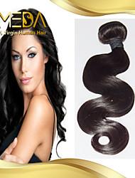 non transformés péruvien vague de corps de cheveux vierges cheveu humain tisse 1pcs naturel noir 8 '' - 30 ''