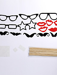 15 Sets Of Interesting Birthday Party Welcome  Wedding Pictures Props Lips