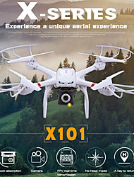 WIFI FPV Real Time Transmission One-Key Return MJX X101 RC Drone with Camera HD 720P RC Quadcopter Helicopter