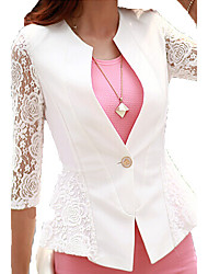 Women's Lace stitching a grain of a small suit jacket