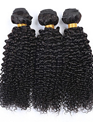 "3pcs/lot 8""-34"" Mongolian Kinky Curly Hair Unprocessed Virgin Hair 3bundles Kinky Curly Mongolian Afro Curly"