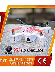 2015 venda superior de alta qualidade Quadrotor 2,4 g de 6 eixos giroscópio mini-ufo rc Quadrotor com câmera hd rtf