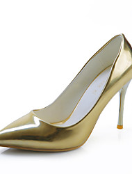 Women's Shoes  Stiletto Heel Heels/Pointed Toe/Closed Toe Pumps/Dress/Casual Blue/Silver/Gold/Metallic