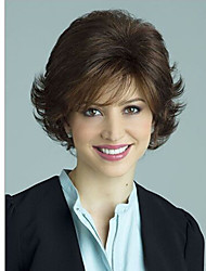 Europe And The United States  Sell Like Hot Cakes in Middle-Aged Natural Short Black Curly Wig