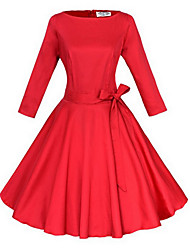 Robes ( Polyester ) Informel Femme