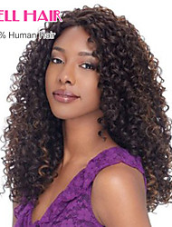 "8""-24""Brazilian Virgin Hair Curly Lace Front Wig For Black Women Gueless Lace Front Human Hair Wigs"