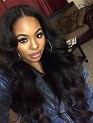 100% Brazilian Virgin Human Hair Body Wave Glueless Full Lace Wigs For Black Women No Tangle In Stock