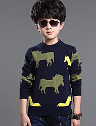 Boy'S Korean Foreign Trade Sweater , Winter/Fall