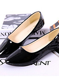 Women's Shoes Flat Heel Round Toe Flats Casual Black/Blue/Yellow/Pink/Purple/Red/White/Beige