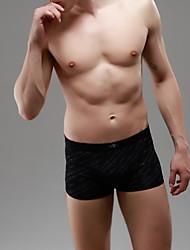 Men's Bamboo Fiber Large Size Briefs Elasticity Boxers