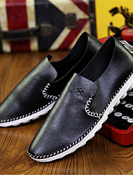 Men's Shoes Casual Loafers Black/Brown/White