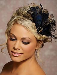 Hand Made Wedding Feather Hair Clip Fascinator Headpieces Fascinators 047