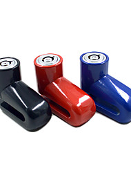 Bloquea la bicicleta ( Negro/Rojo/Azul , Metal