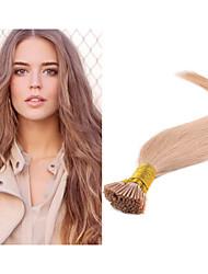 i brasileira ponta extensões de cabelo de queratina retas 100s cabelo 1g cabelo / s prebonded / embalar extensão do cabelo virgem não