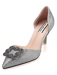 Women's Shoes Glitter Stiletto Heel Comfort Pointed Toe Pumps Party and Dress More Colors available