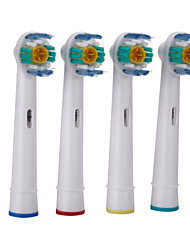 4pcs A Set Replacement Electric Toothbrush Heads Soft-bristled EB-18A for Oral B