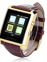 Lincass DM08 Wearable Smartwatch, IPS Media Control/Hands-Free Calls/Pedometer/Anti-lost for Android/iOS Smartphone
