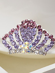 Flower Girl's Rhinestone/Alloy Headpiece - Party/Casual 1 Piece
