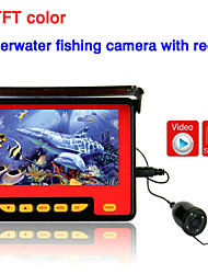 "ENNIO 20M 4.3"" TFT Underwater Fishing Camera System HD 1000TV Lines Underwater Camera with Record"