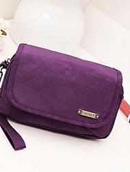 Décontracté / Extérieur - Mini Sac de Poignet - Violet / Bleu / Rouge / Noir - Nylon - Femme