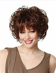Fibras sintéticas 2015 kanekalon curly perucas para mulher