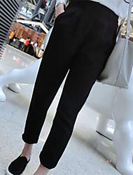 Women's Casual Loose Pants , Silk Micro-elastic