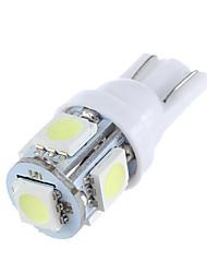 lorcoo ™ T10 1.5W 2шт 5x5050smd 100-120lm 6000k холодный белый свет светодиодные лампы
