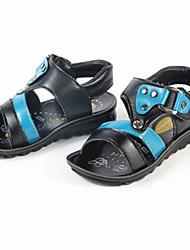 Chaussures bébé - Noir / Marron - Décontracté - Similicuir - Sandales