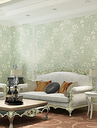 Contemporary Wallpaper Art Deco 3D Big Flower Wallpaper Wall Covering Non-woven Fabric Wall Art