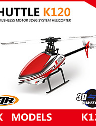 XK K120 Blash 6CH Brushless 3D6G System RC Helicopter RTF