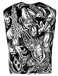 GOODTURN Tattoo Stickers Non Toxic/Lower Back/Waterproof Others Teen Multicolored Paper 1 22cm*15cm The Ghost Hunter