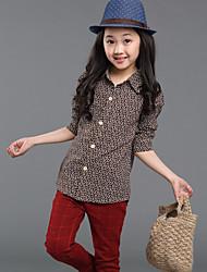Camicia Girl Manica lunga Inverno/Primavera/Autunno Cotone