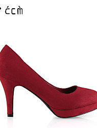 Women's Shoes Cone Heel Heels/Platform/Basic Pump/Round Toe Pumps/Heels Office & Career/Party & Evening/Casual Shoes