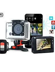 2015 cámara de acción wifi wdv6000 1080p de vídeo sin fisuras con estilo sj6000 cámara del deporte wifi cámara resistente al agua buceo