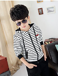 Boy's Striped Long-Sleeved Clothing Set (Cotton)