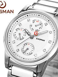 EASMAn Brand Women Ceramic Watch Quartz Watch Fashion Zircon Jewelry White Ceramic Watches Women For Ladies Wristwatches