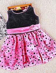 Vestido ( Algodão ) KID - Casual/Romântico/Festa