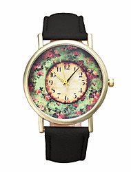 Gofuly Fashion Wholsale Design Women Dress Watches Quartz Watch Pastorale Floral Ladies Watch Cool Watches Unique Watches