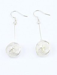 Earring Drop Earrings Jewelry Women Alloy / Platinum Plated / Gold Plated 1set Silver