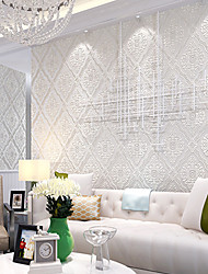 Contemporary Wallpaper Art Deco 3D European Wallpaper Wall Covering Non-woven Fabric Wall Art