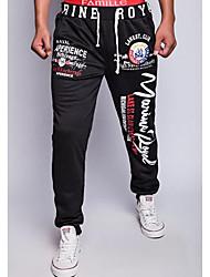 Pantaloni della tuta Uomo Attività sportive Cotone