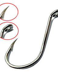 50Pcs Size 5/0# High Carbon Steel Fishing Hooks Have Fishing Tackle Fish Hook